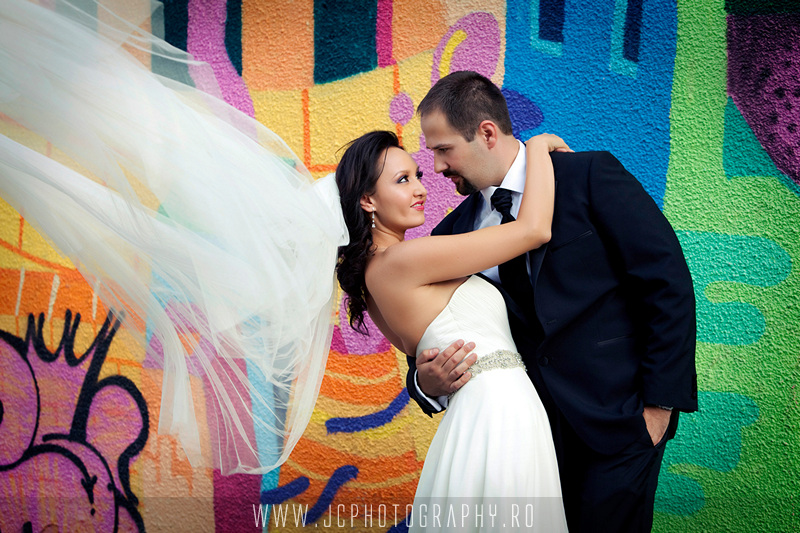 sedinta foto- trash the dress