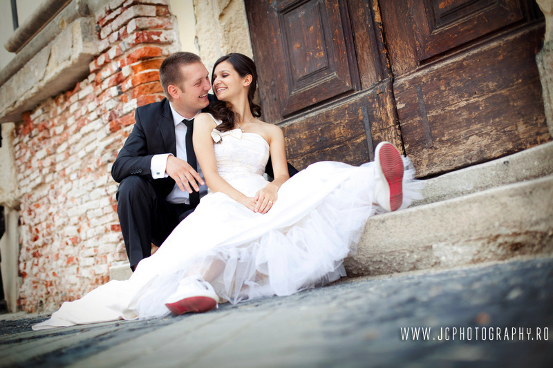 Sedinta foto dupa nunta Sibiu