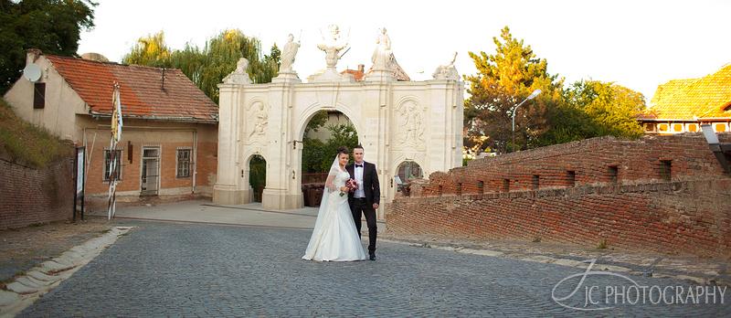 50 Fotografii nunta Poarta Cetatii Alba Iulia