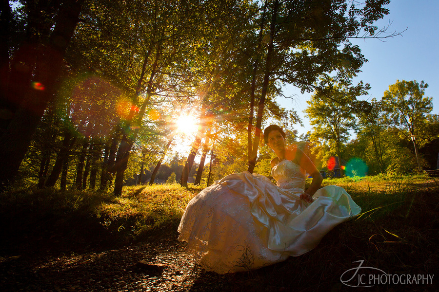 24 trash the dress