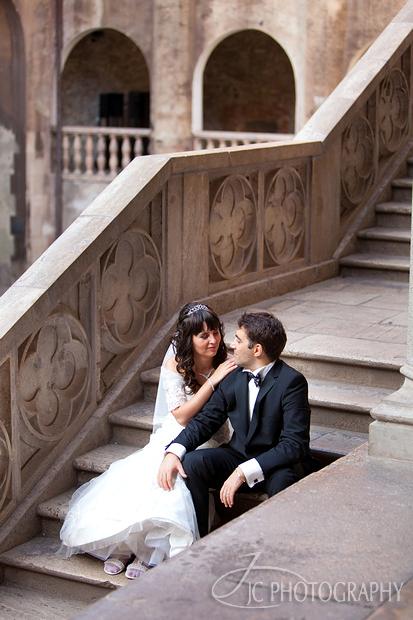 18Sedinta foto dupa nunta Castelul Corvinilor