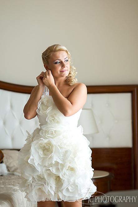 20 Fotografii nunta Grand Hotel Italia pregatiri mireasa