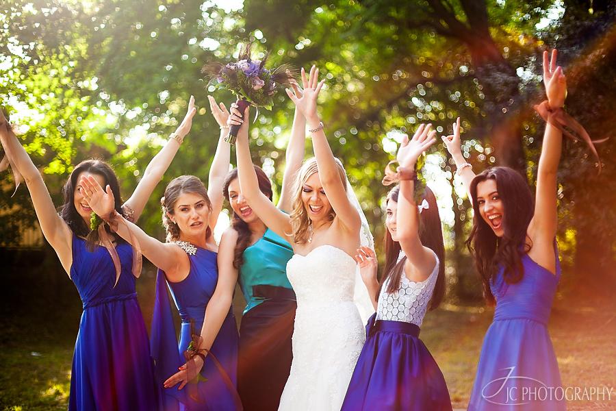 21 Domnisoare de onoare nunta