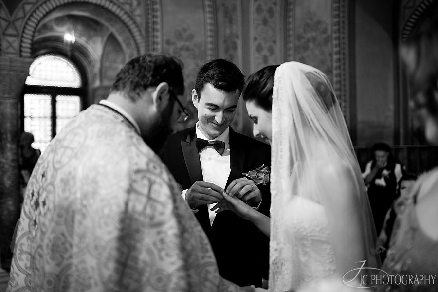 18 Fotografii ceremonia religioasa  nunta Sibiu