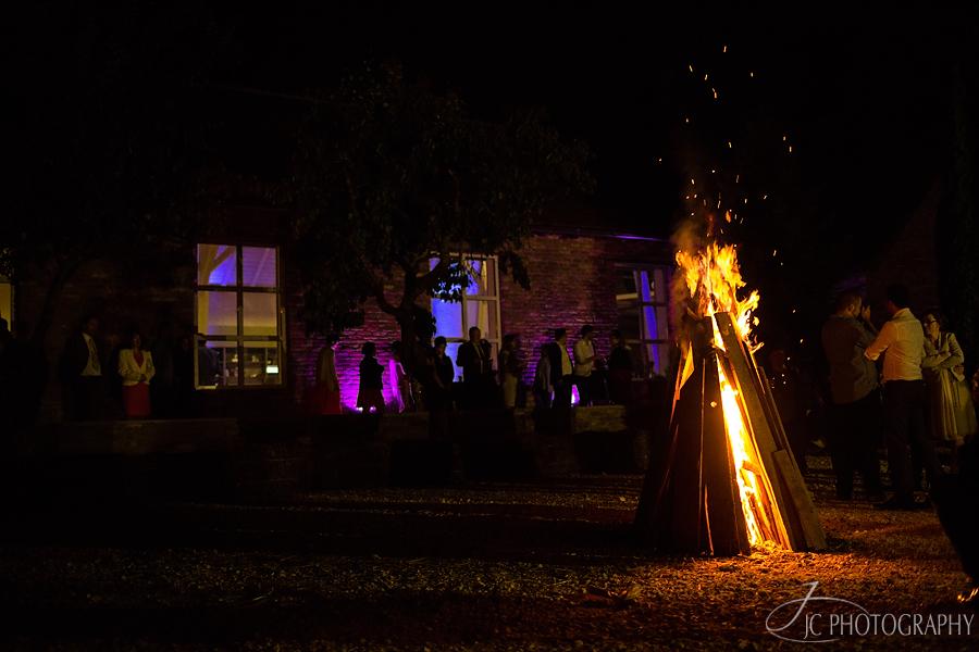 59 Foc de tabara nunta la Conacul Heldsdorf