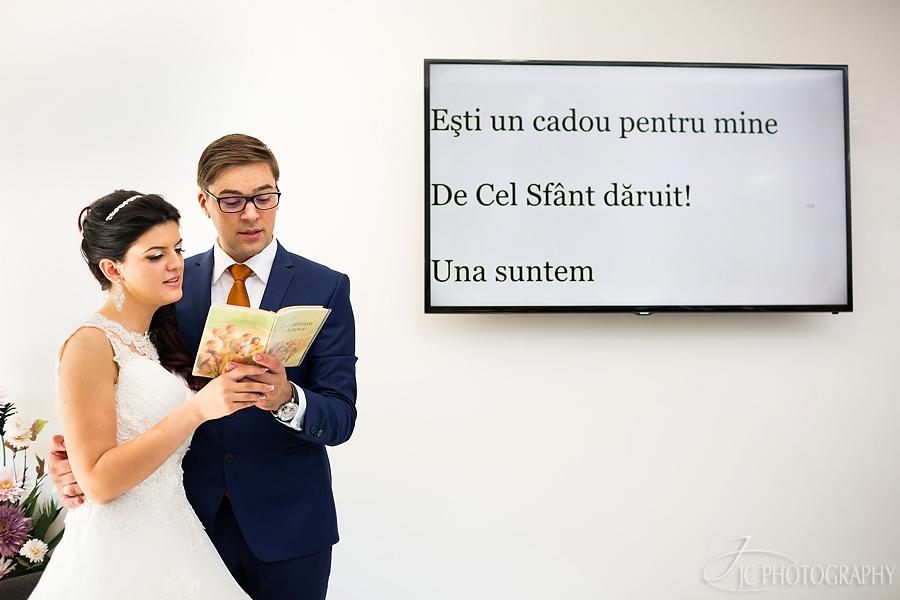 23 Fotografii ceremonia religioasa nuntaBistrita