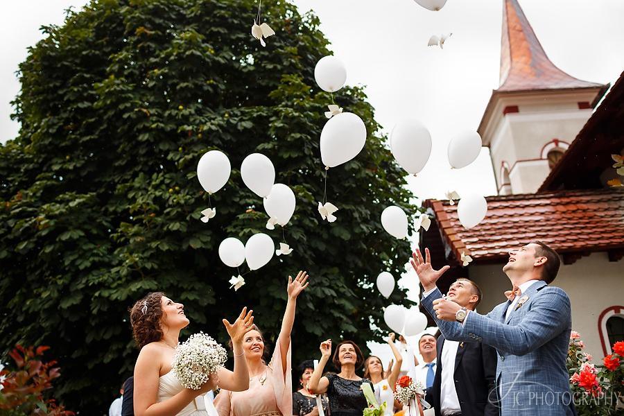 34 Baloane decor handmade nunta