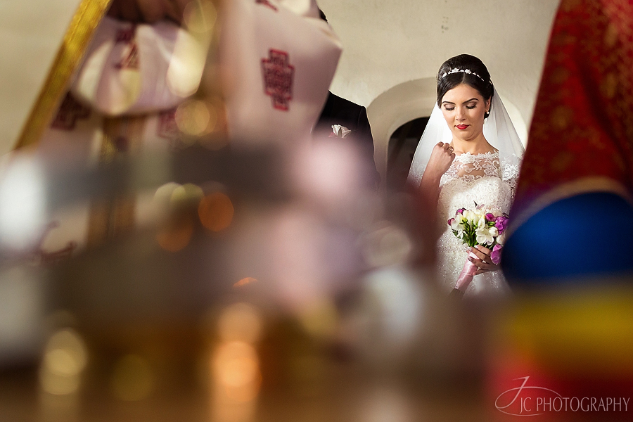 15 Fotografii ceremonia religioasa nunta Galda