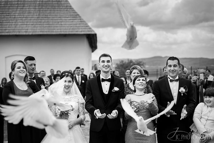 20 Porumbei nunta Alba Iulia