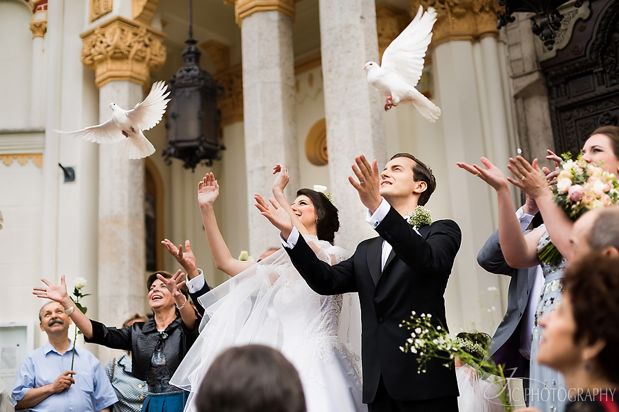 33 Fotografii nunta porumbei