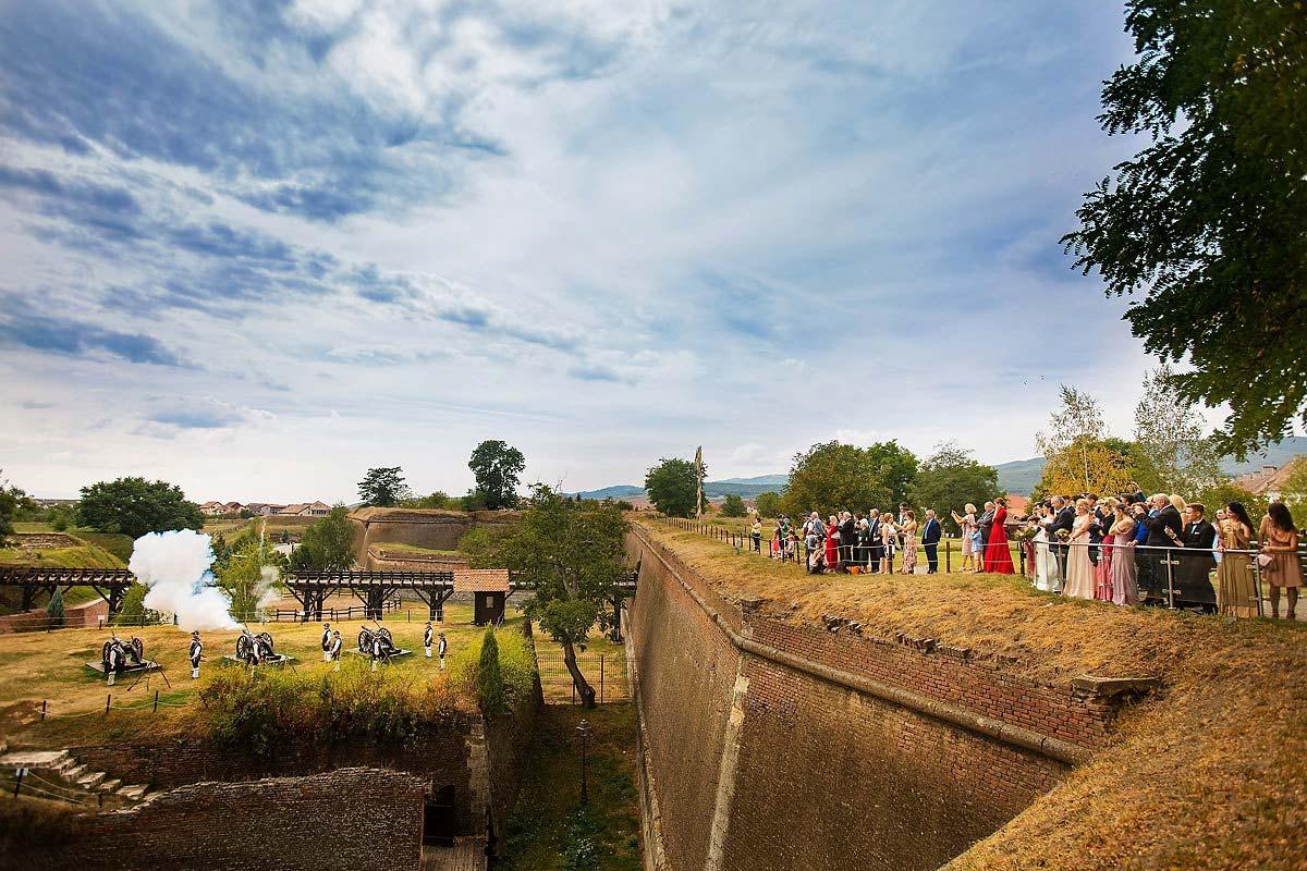 27 Ceremonia Traseul celor trei fortificatii Alba Iulia